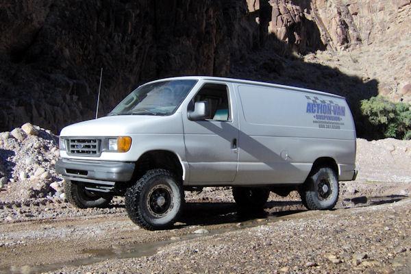 Action Vans Suspension Systems Van