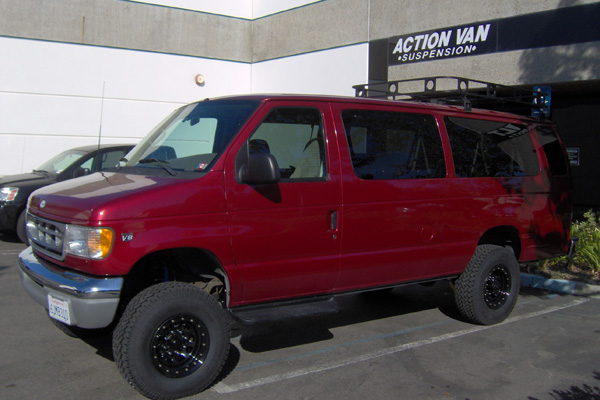 Action Vans Suspension Systems Van