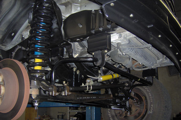 Action Van Suspension System Details Ford Van Lift Kits
